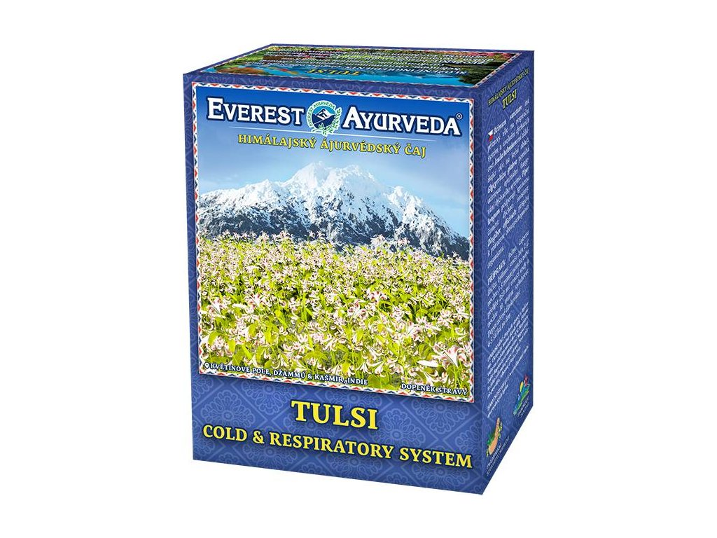 Everest Ayurveda himalájsky bylinný čaj TULSI