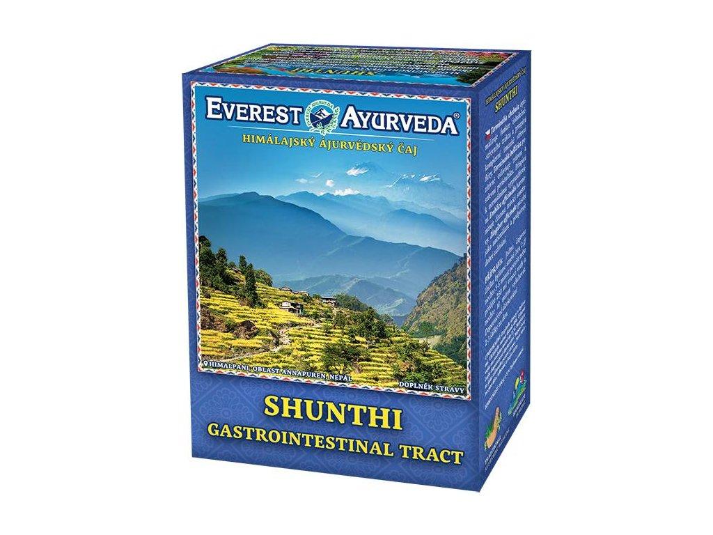 Everest Ayurveda himalájsky bylinný čaj SHUNTHI