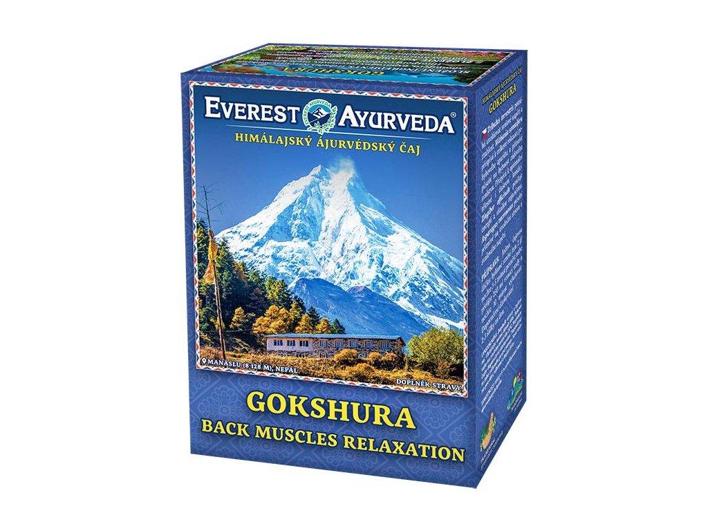 Everest Ayurveda himalájsky bylinný čaj GOKSHURA