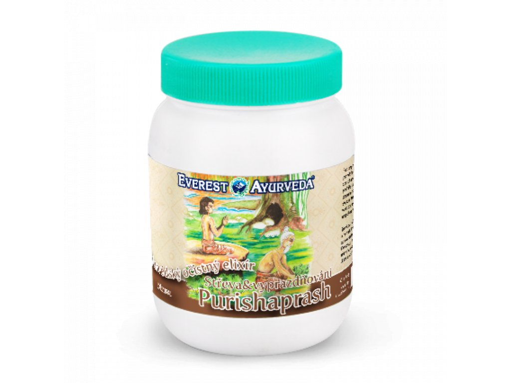 6357 everest ayurveda očistný elixir purishaprash 200 g