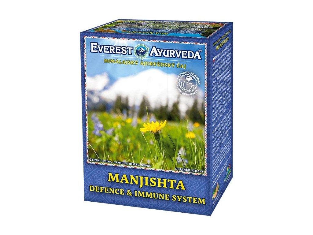 Everest Ayurveda himalájsky bylinný čaj MANJISHTA