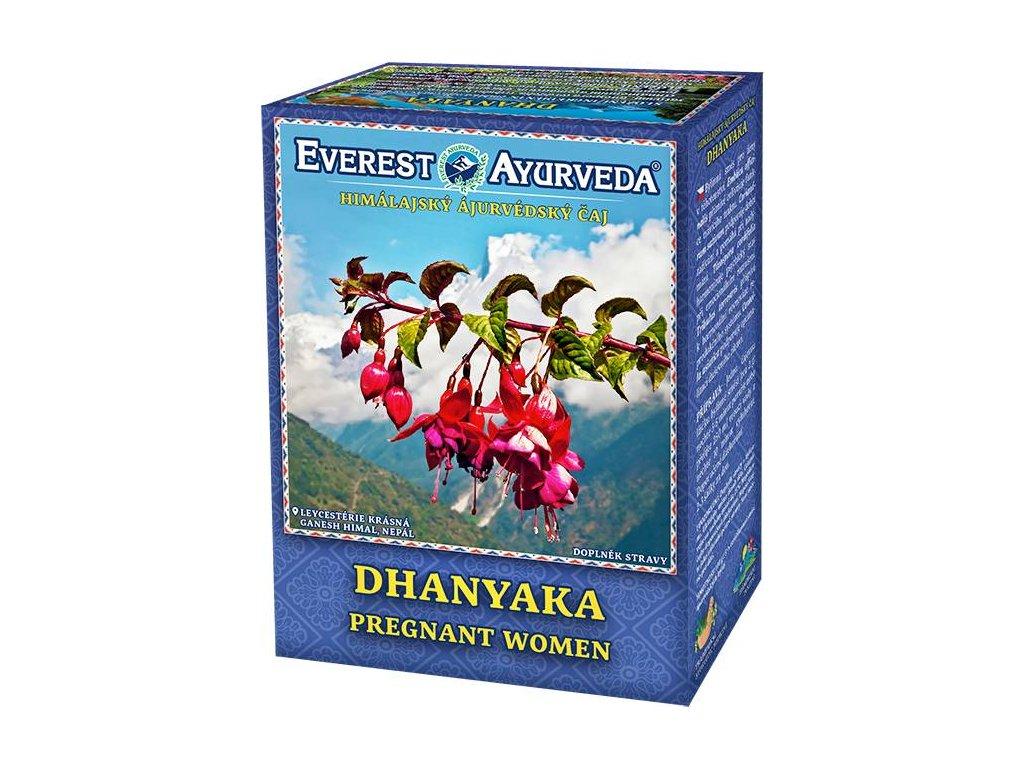 Everest Ayurveda himalájsky bylinný čaj DHANYAKA