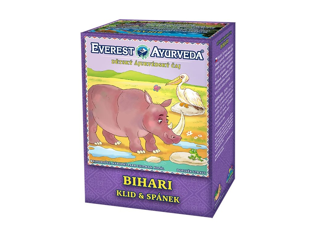 Everest Ayurveda detský bylinný čaj BIHARI