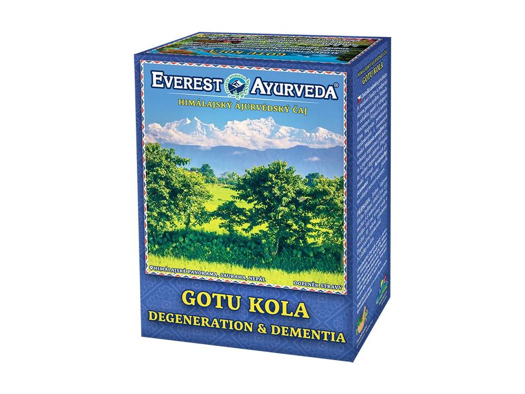 Everest Ayurveda himalájsky bylinný čaj GOTU KOLA