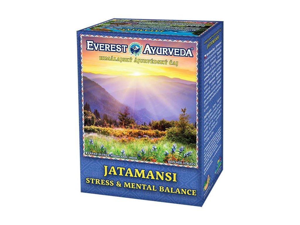 Everest Ayurveda himalájsky bylinný čaj JATAMANSI