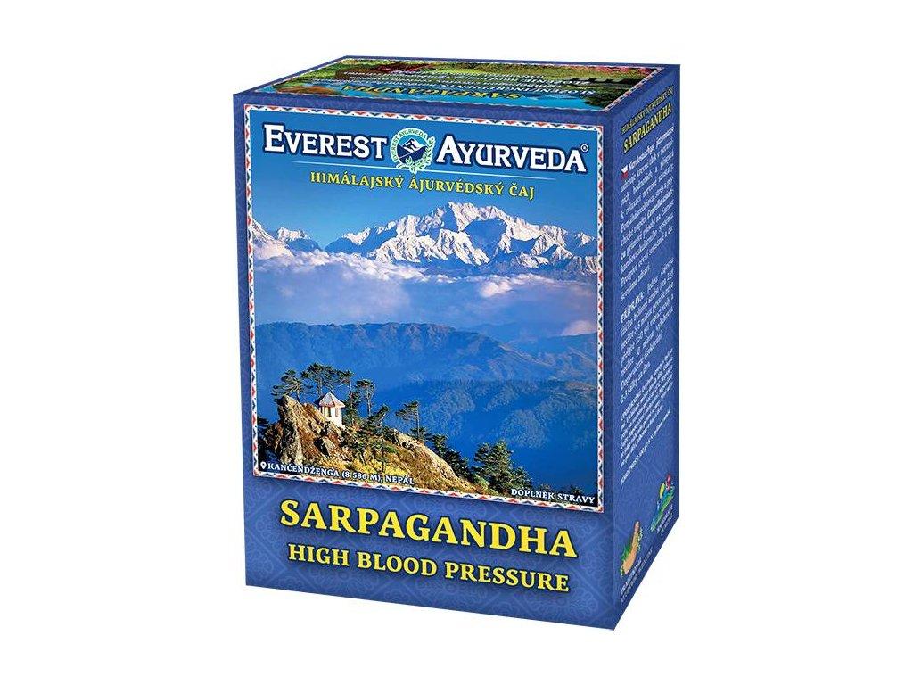 Everest Ayurveda himalájsky bylinný čaj SARPAGANDHA