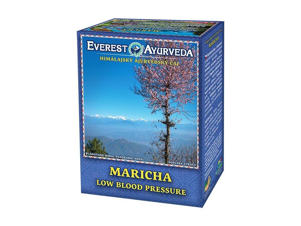 Everest Ayurveda himalájsky bylinný čaj MARICHA