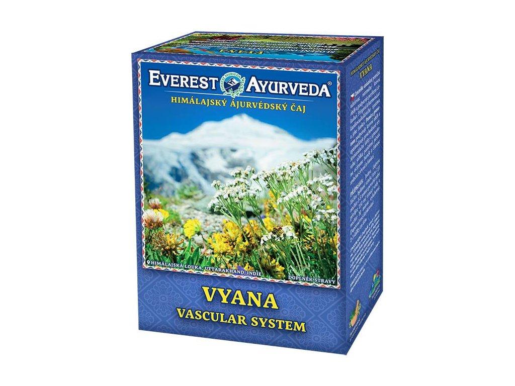 Everest Ayurveda himalájsky bylinný čaj VYANA