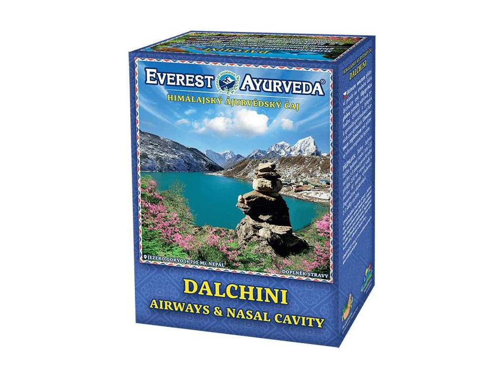 Everest Ayurveda himalájsky bylinný čaj DALCHINI