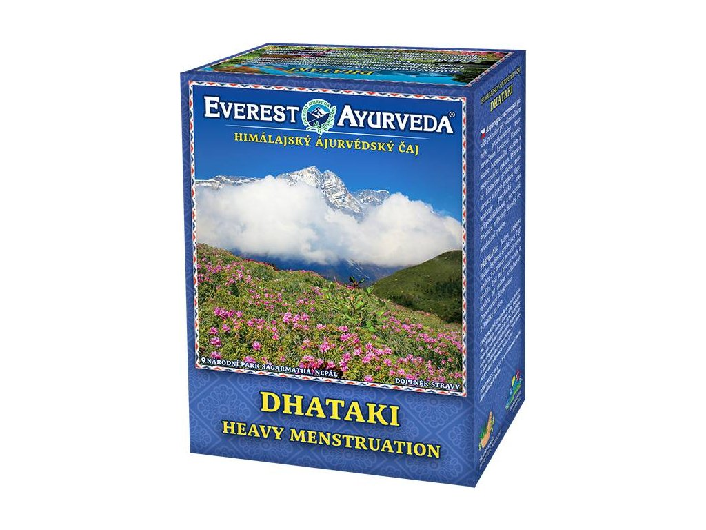 Everest Ayurveda himalájsky bylinný čaj DHATAKI