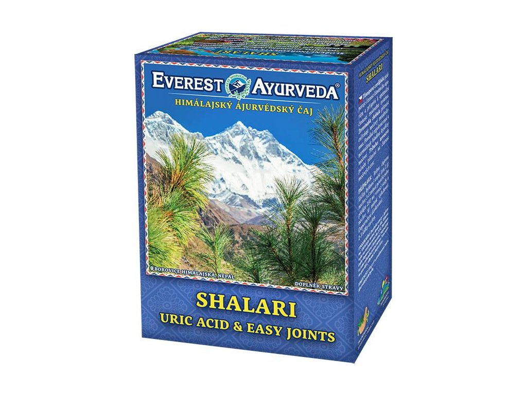Everest Ayurveda himalájsky bylinný čaj SHALARI
