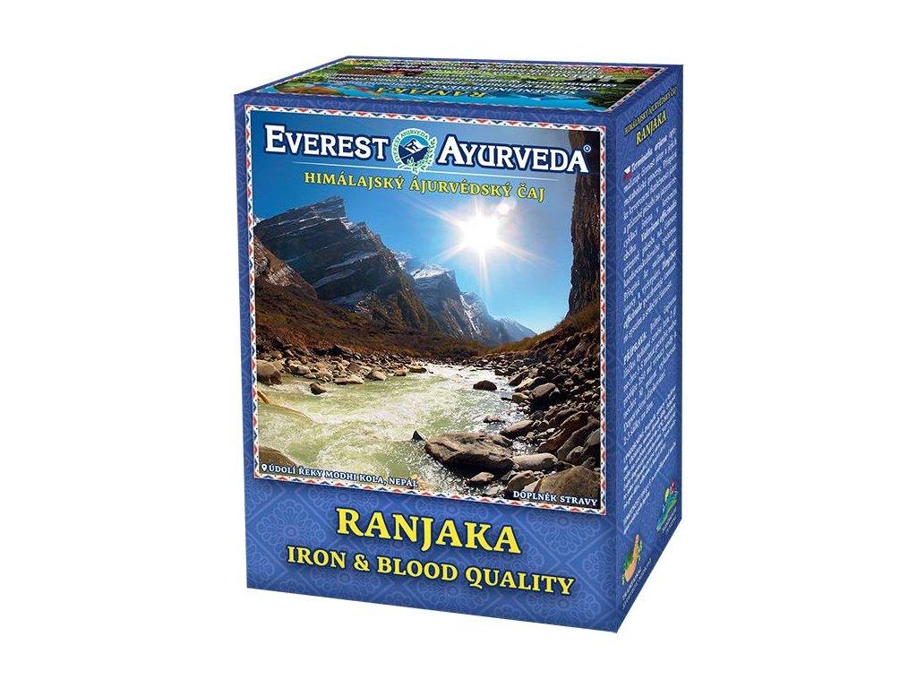 Everest Ayurveda himalájsky bylinný čaj RANJAKA