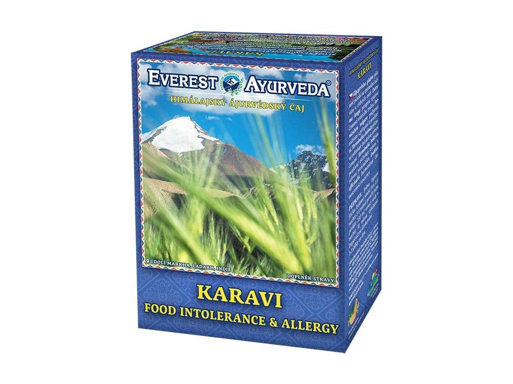 Everest Ayurveda himalájsky bylinný čaj KARAVI