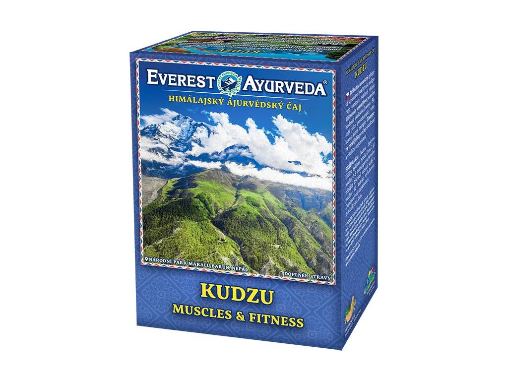 Everest Ayurveda himalájsky bylinný čaj KUDZU