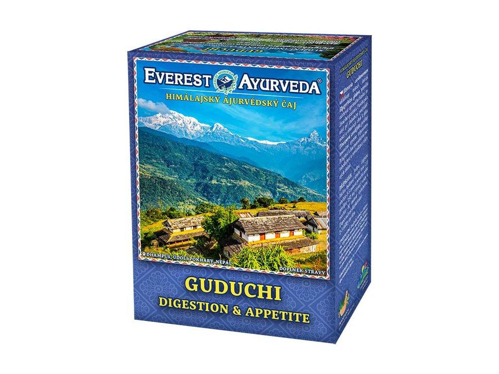 Everest Ayurveda himalájsky bylinný čaj GUDUCHI