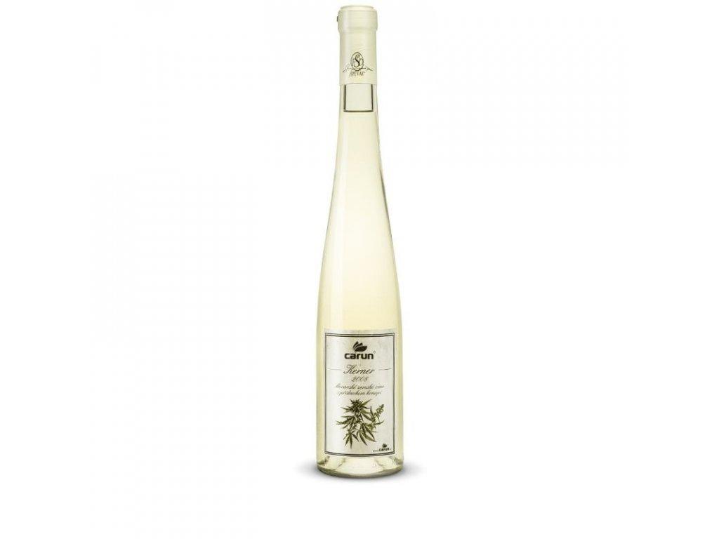 6759 carun konopný vino Kerner 2008 0 5 l