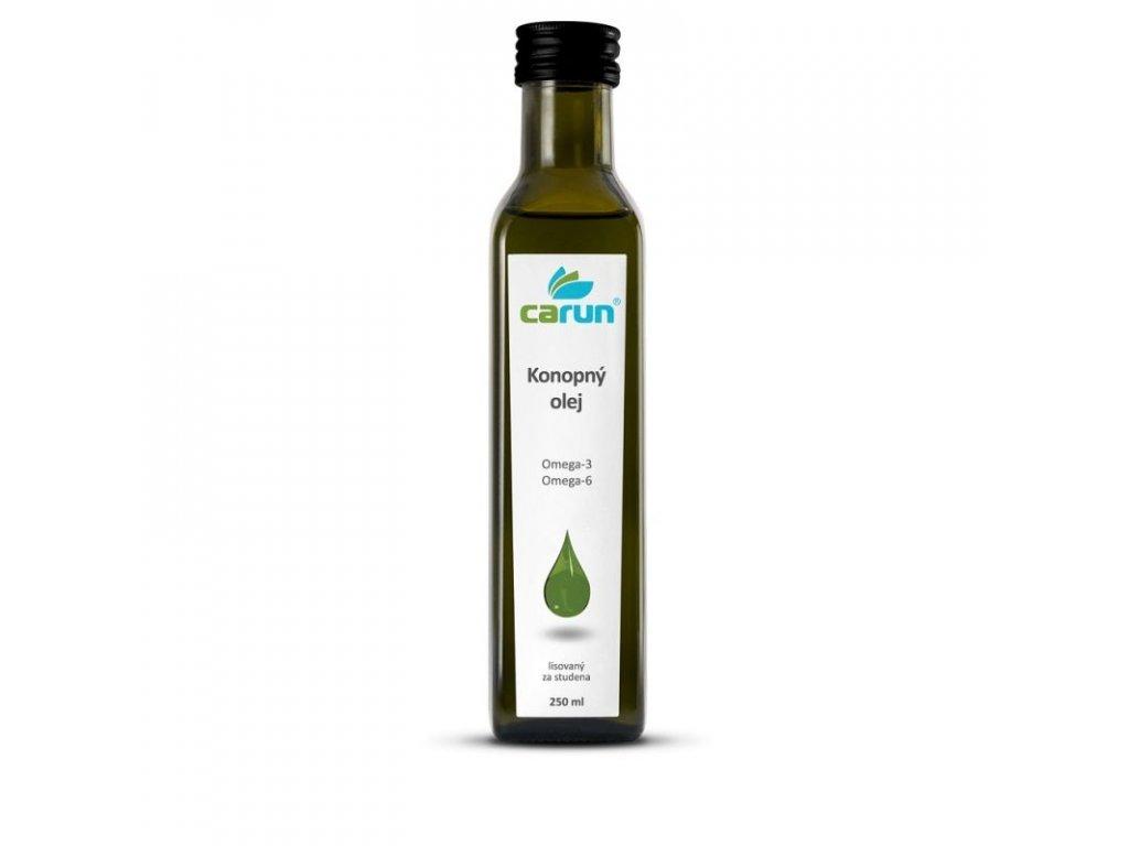 6762 carun panensky konopný olej 250 ml