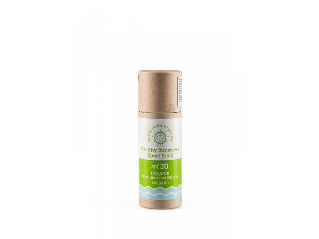 6870 biorganicabutterbean ochranna tycinka na opal šport SPF30 29ml