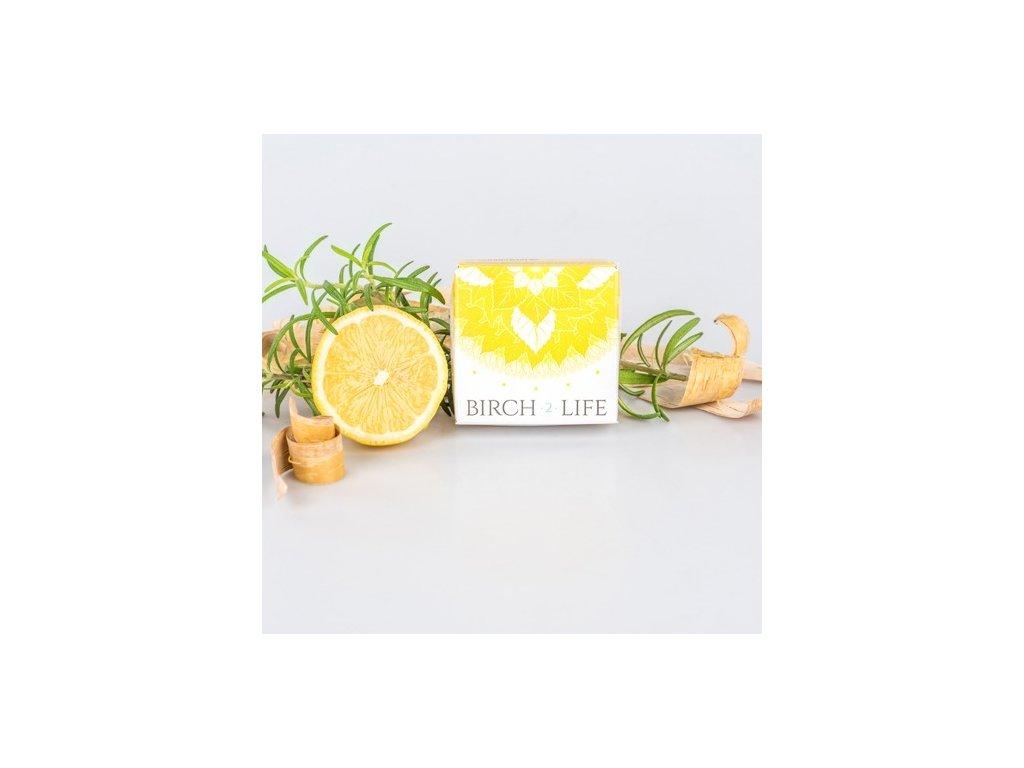 6987 birch2life citrón Rozmaryn prirodne mydlo 100 g
