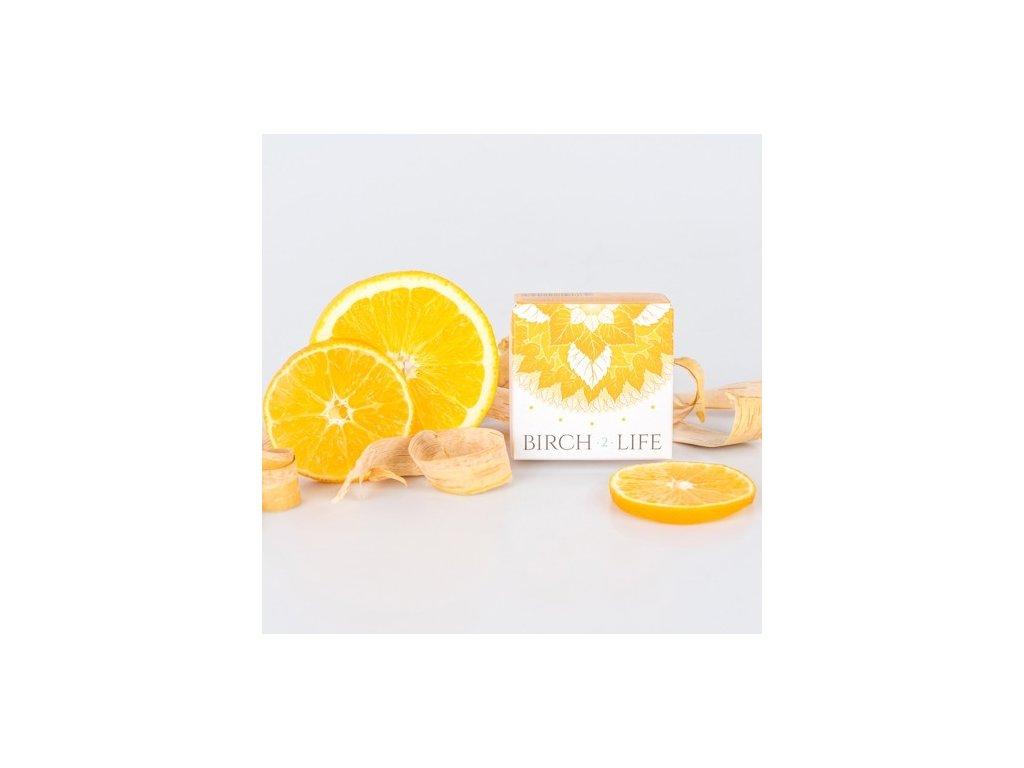 6990 birch2life pomeranc mandarínka prirodne mydlo 100 g