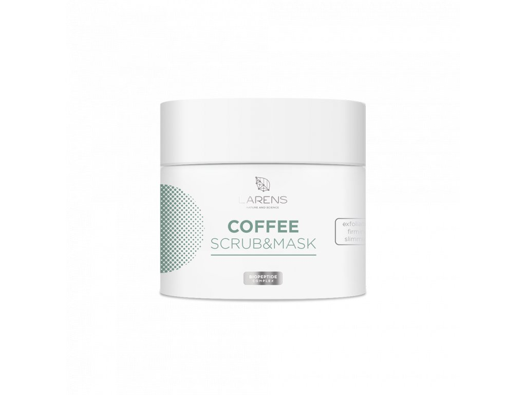 7437 Welle LARENS coffee scrub mask 200 ml new formula