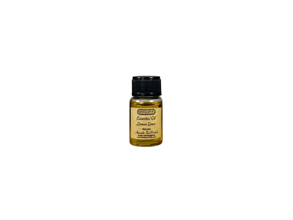 7662 Siddhalepa Ayur essential oil citronova trava lemongrass 10ml