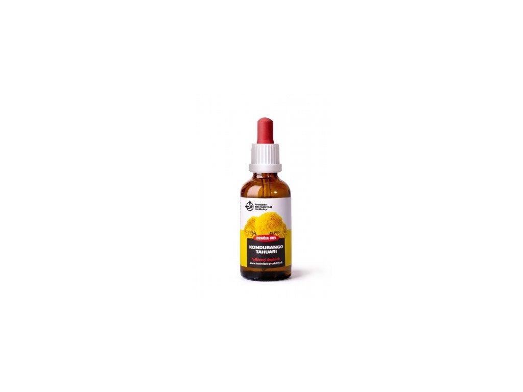 8058 travnicek draci krv kondurango Tahuari tinktúra 50 ml