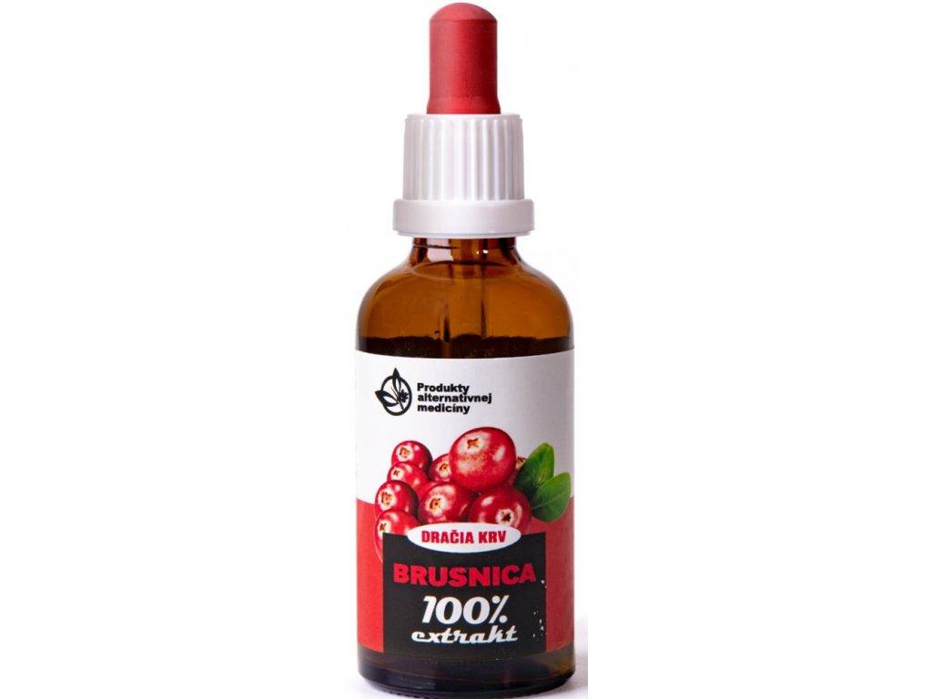 Trávniček Dračia krv - Brusnica 100% extrakt