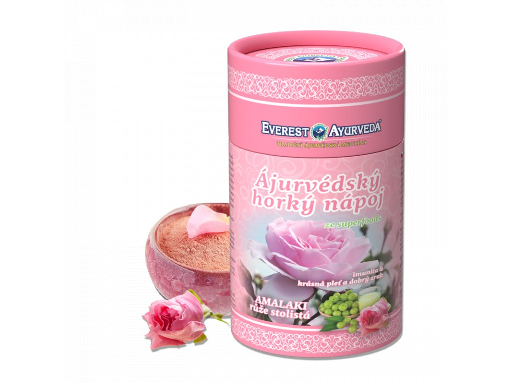 Everest Ayurveda himalájsky horúci nápoj AMALAKI ruža