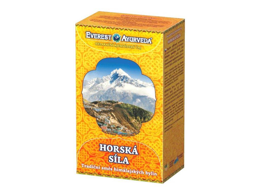 Everest Ayurveda Relaxačný ajurvédsky čaj HORSKÁ SILA