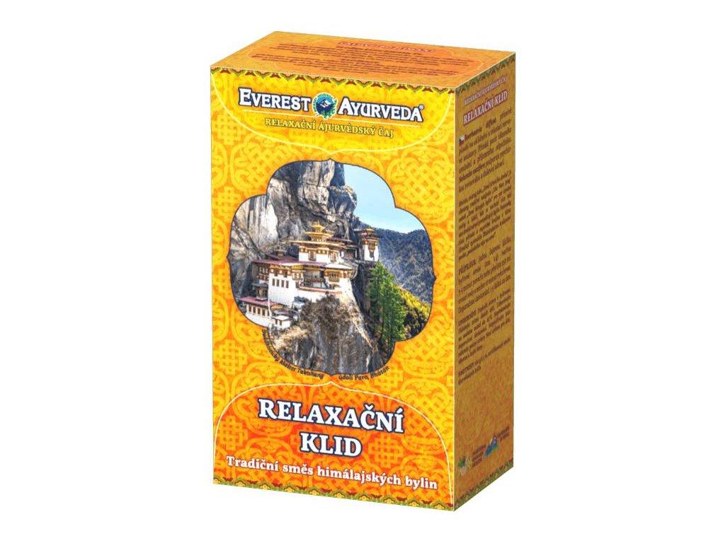 Everest Ayurveda Relaxačné ajurvédsky čaj RELAXAČNÉ POKOJ