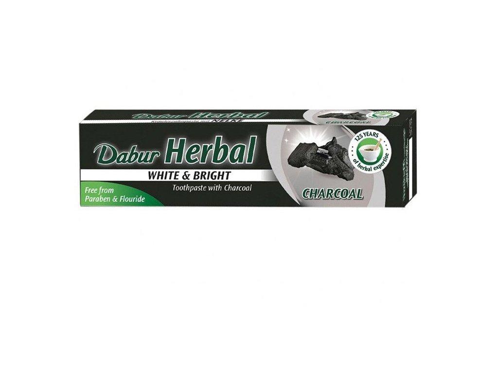Dabur Zubná pasta bieliaca s aktívnym uhlím
