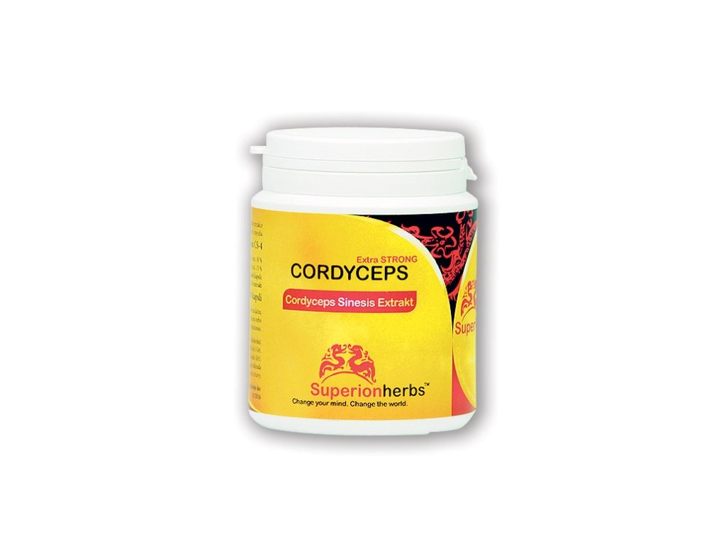 SUPERIONHERBS Cordyceps Sinensis Extrakt