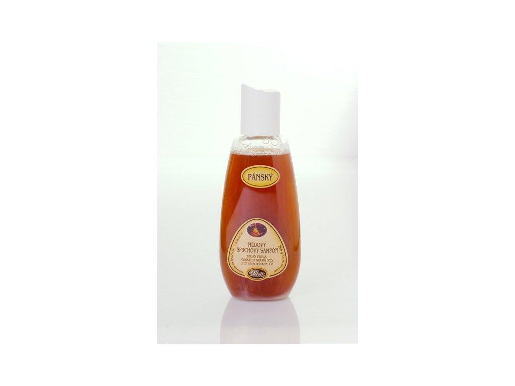 Pleva Pánsky medový sprchový šampón