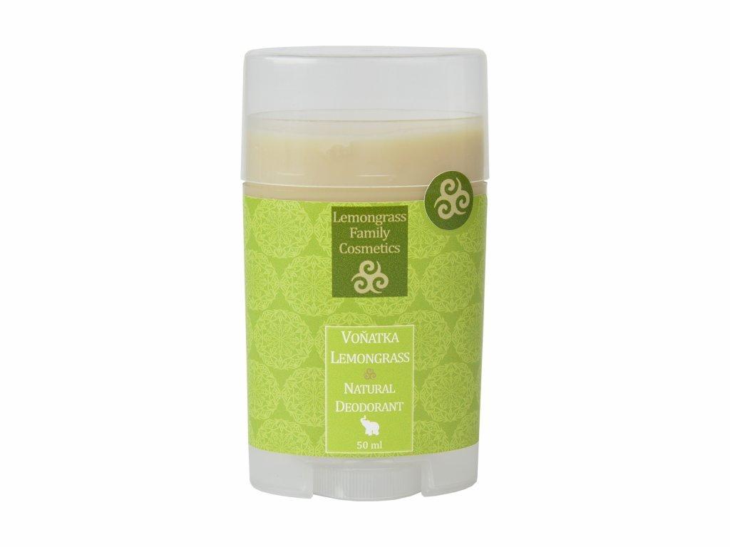 Healing Nature Deodorant citronovou trávou