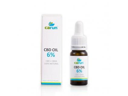 Carun Kannabidiolový konopný olej CBD 6%