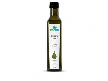 Carun Panenský konopný olej