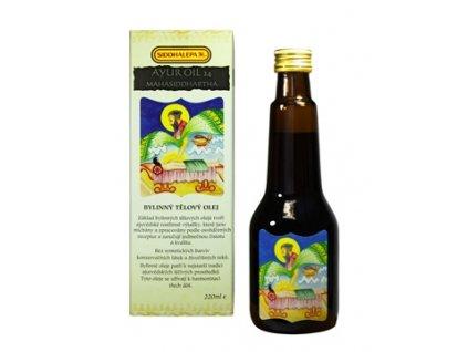 7647 Siddhalepa Ayur oil 24 mahasiddhartha 220ml