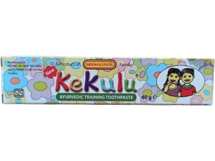 Siddhalepa Zubná pasta pre deti Kekulu