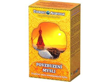 Everest Ayurveda Relaxačné ajurvédsky čaj POVZBUDENIE MYSLI