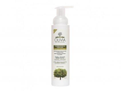 OLIVIA Prírodné Penové mydlo Olivový kvet