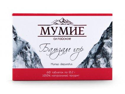 Díky přírodě mumio tablety
