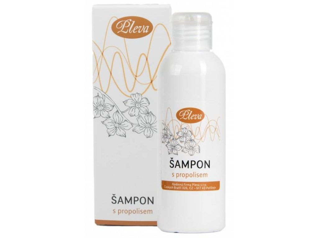 Pleva Šampon s propolisem
