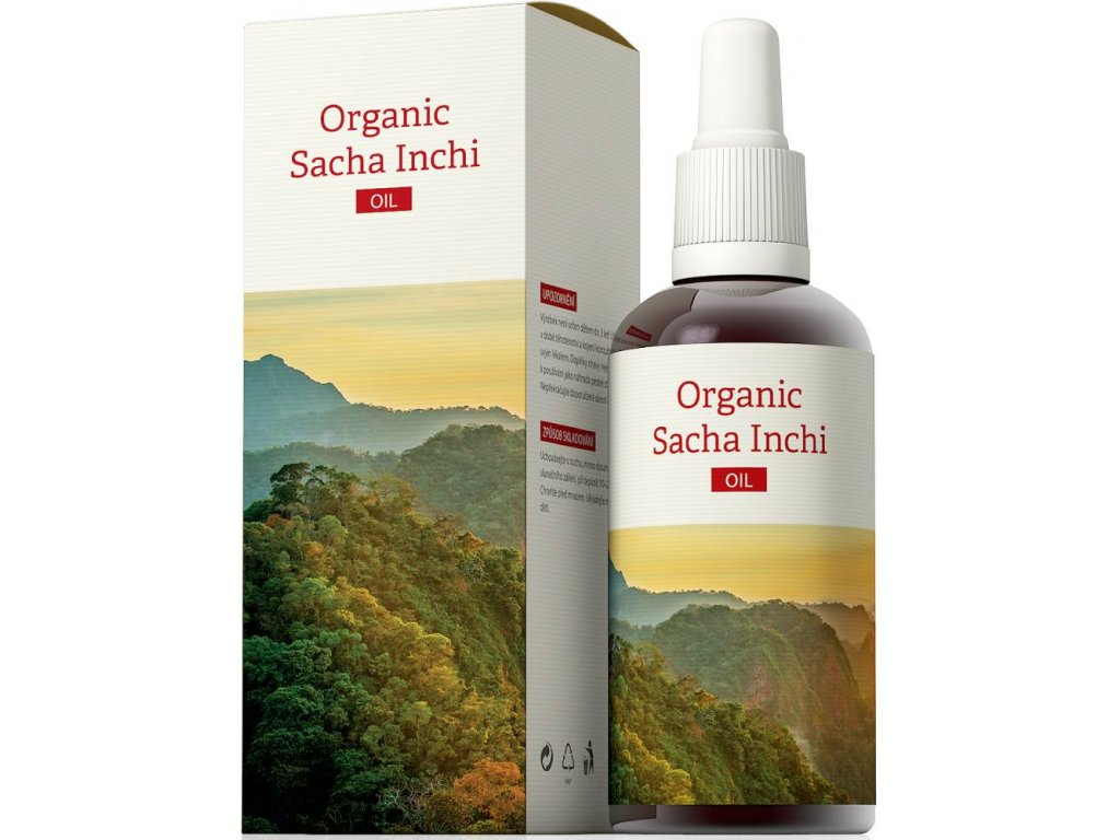 5952 energy organic sacha inchi oil