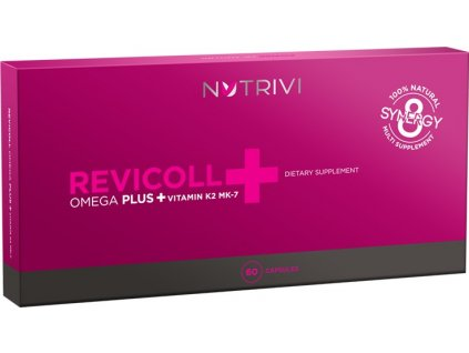 WellU NUTRIVI Revicoll Omega Plus + Vitamin K2MK7