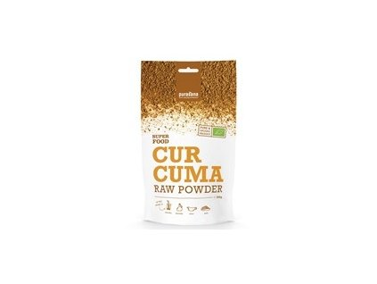 7725 purasana curcuma raw powder bio 200g