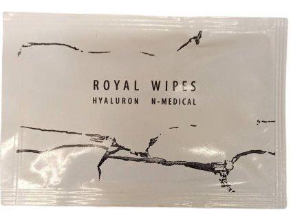 Hyaluron N Medical Hydratační ubrousky Royal wipes