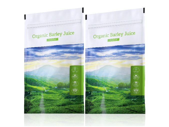 Organic Barley Juice powder výhodné sety