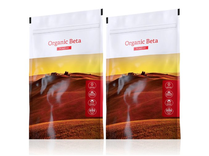 Organic Beta powder výhodné sety