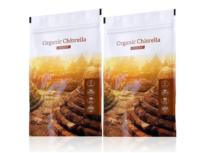 Organic Chlorella powder výhodné sety